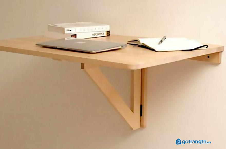 Cách làm bàn học treo tường cho bé đơn giản nhất