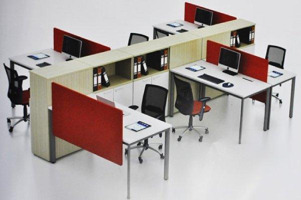 Cách chọn bàn ghế văn phòng dành cho phòng làm việc có diện tích nhỏ