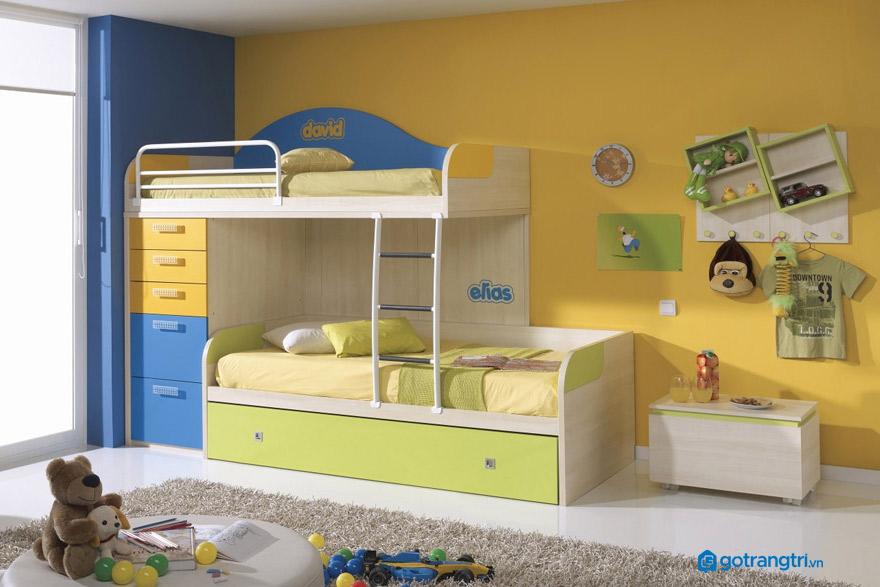 Lưu ý khi chọn giường 2 tầng cho trẻ em an toàn
