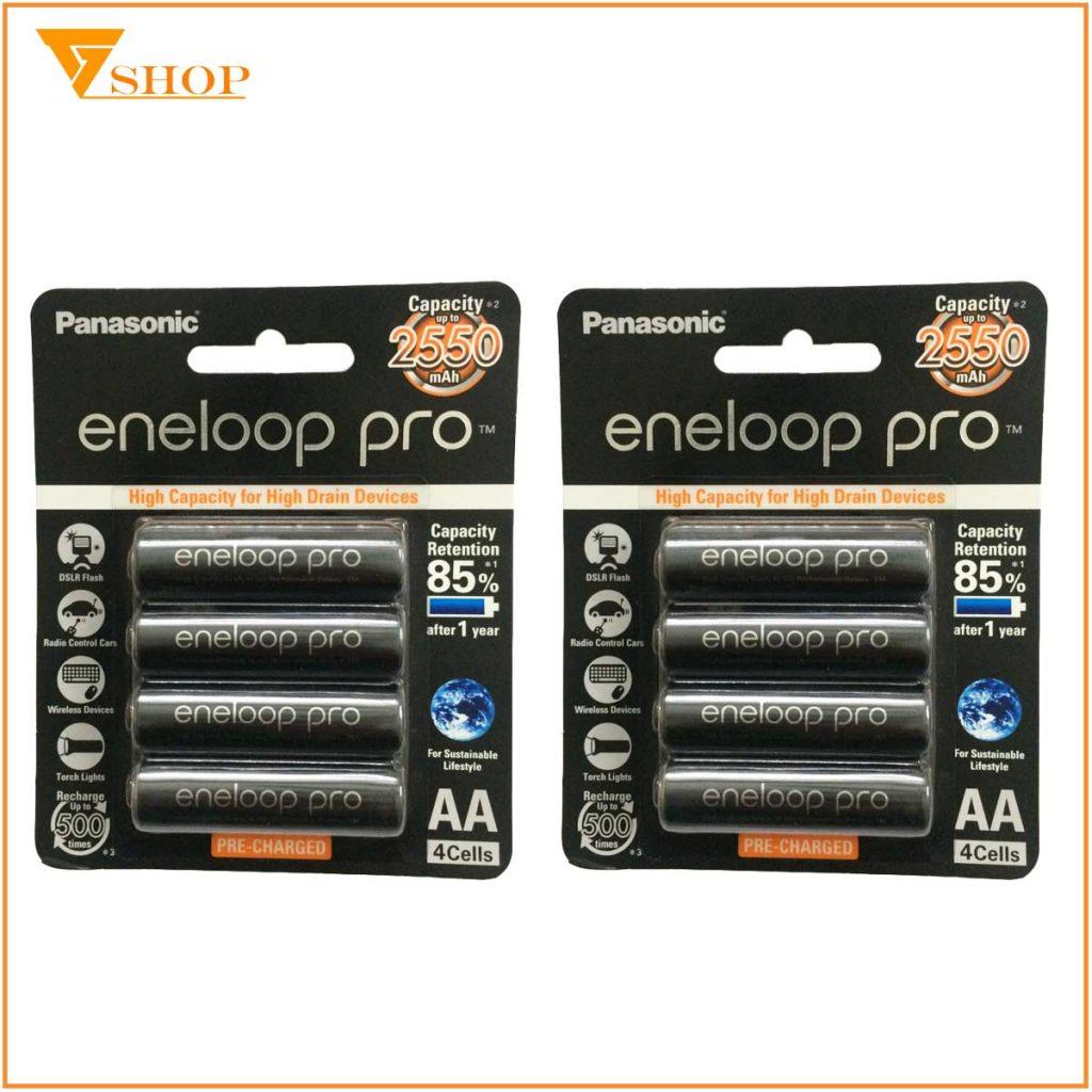 pin sạc Eneloop AA