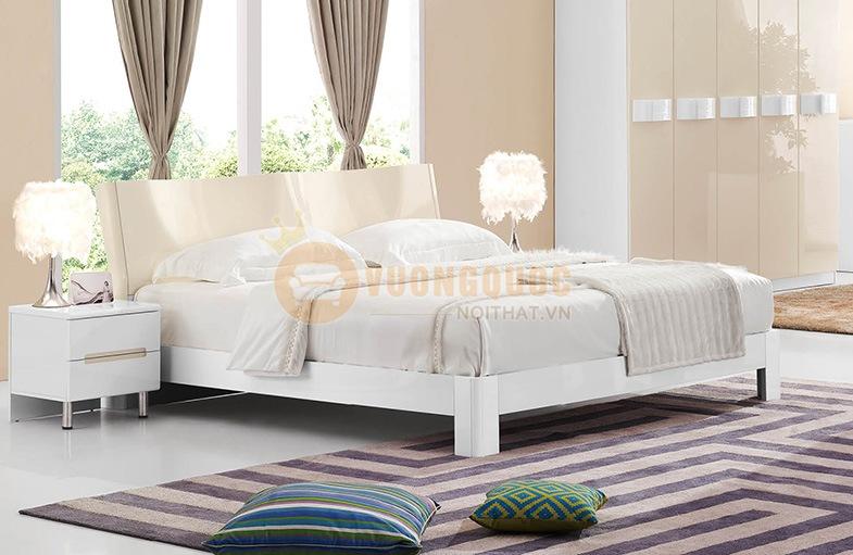 Bộ giường ngủ đẹp nhập khẩu có chất lượng cao