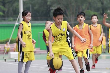 Tìm hiểu về lớp học bóng rổ tại Trung tâm Thế thao Tuổi Trẻ