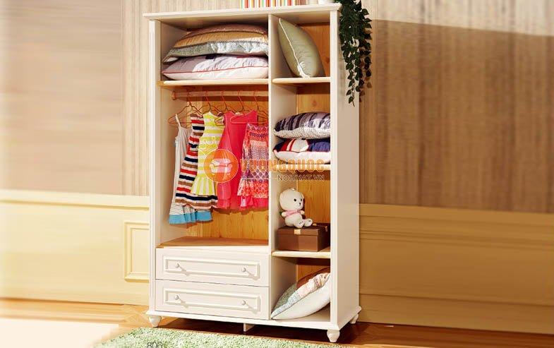 Điểm thu hút của sản phẩm tủ quần áo trẻ em bằng gỗ công nghiệp