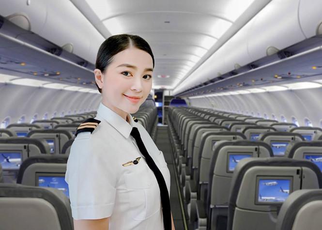 Diệu Thúy nữ phi cơ đâu tiên Bamboo Airways