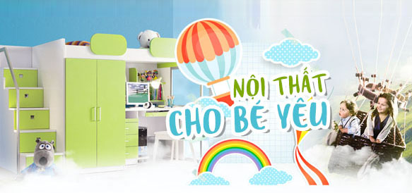 Nội thất phòng ngủ trẻ em hiện đại cần mua tại cửa hàng uy tín