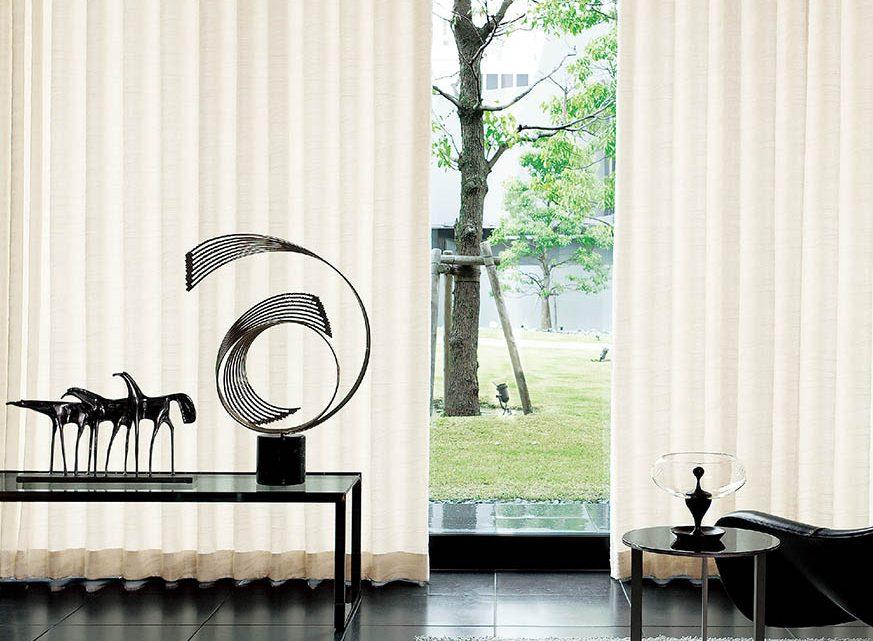 Tạo nên phòng khách sang trọng với Rèm vải Nhật Bản