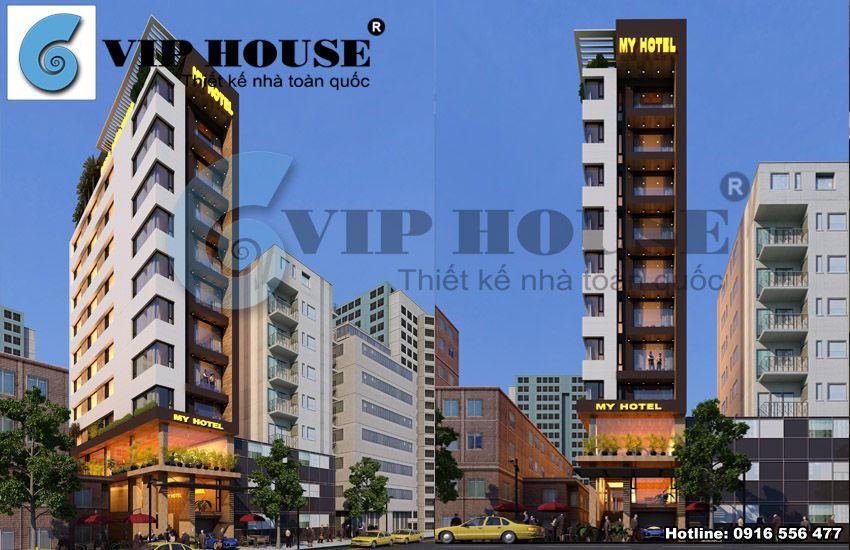 Tổng hợp mẫu thiết kế khách sạn mini đẹp sang trọng