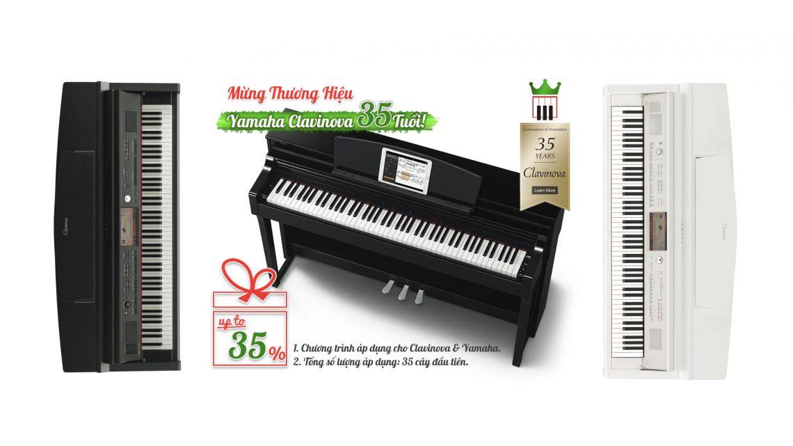 Bảng Giá Đàn Piano Yamaha mới cập nhật 2019
