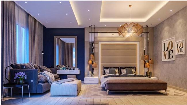 Không gian nào thích hợp với giường ngủ hiện đại?