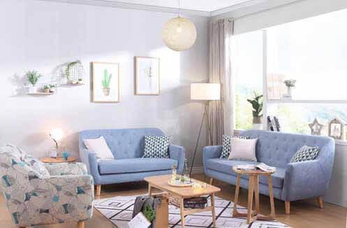 Sofa nỉ đẹp hiện đại - chất liệu cao cấp