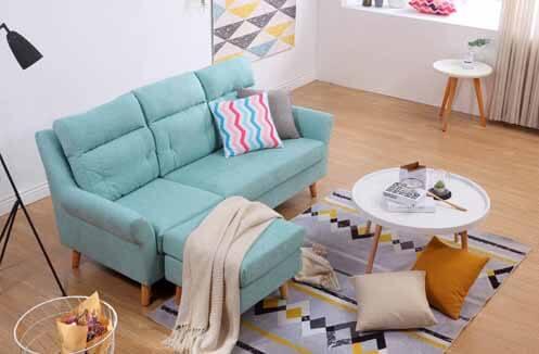 Sofa nỉ đẹp hiện đại - mang tính ứng dụng cao