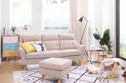Sofa nỉ đẹp hiện đại - thiết kế đa dạng về mẫu mã