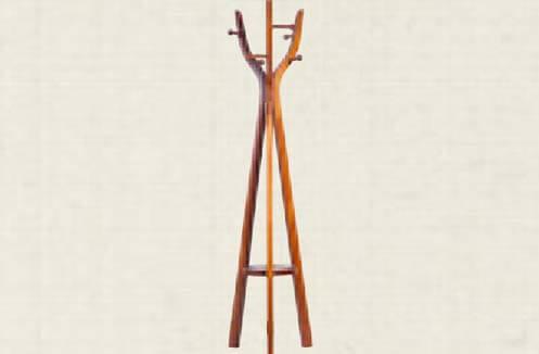 Cây treo quần áo gỗ thiết kế đơn giản