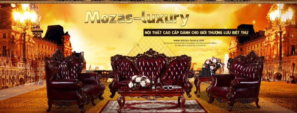 TOP 2: Nội thất cao cấp Mozas-Luxury