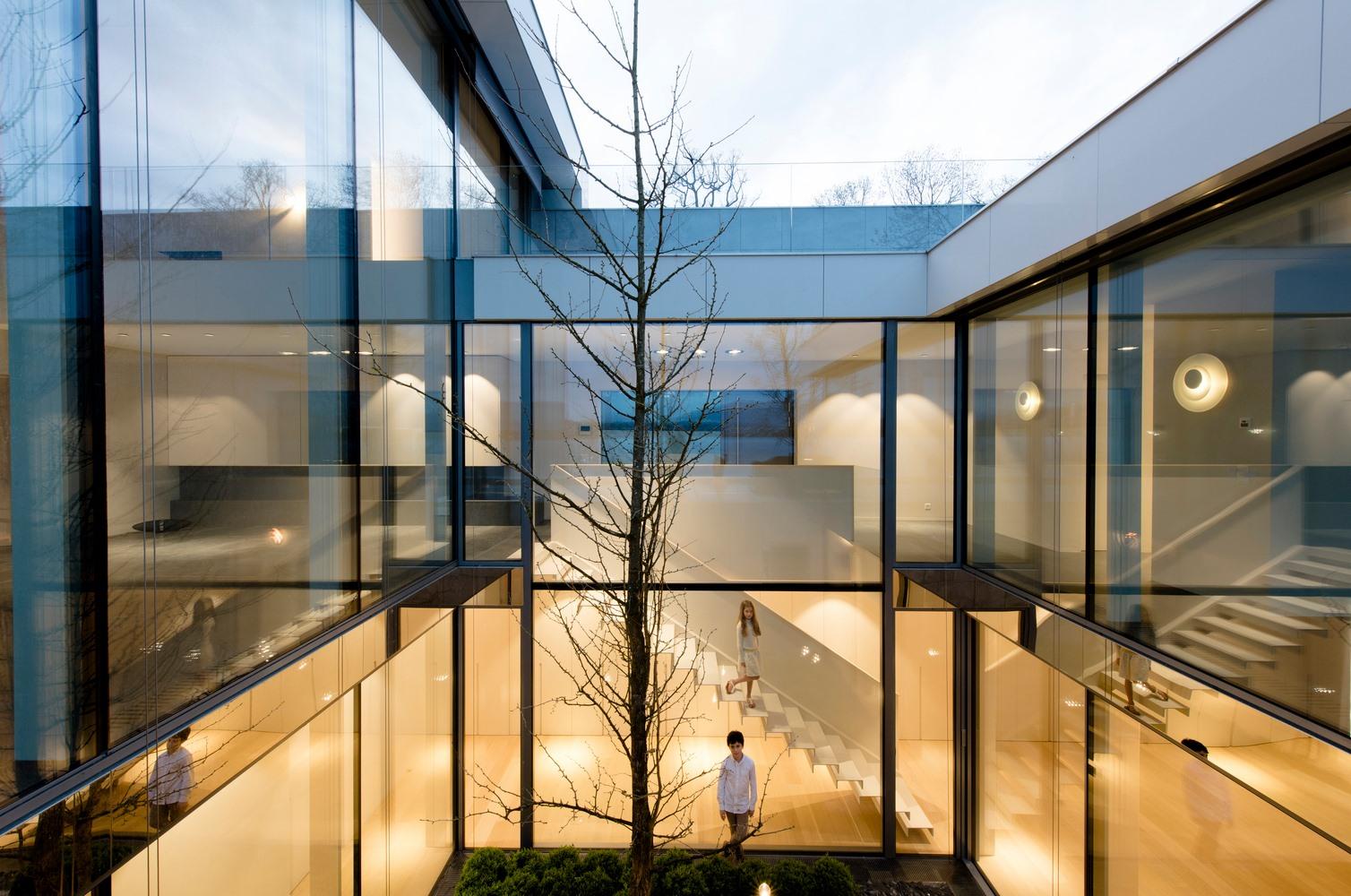 Vách ngăn nhôm kính - Xư hướng kiến trúc hiện đại
