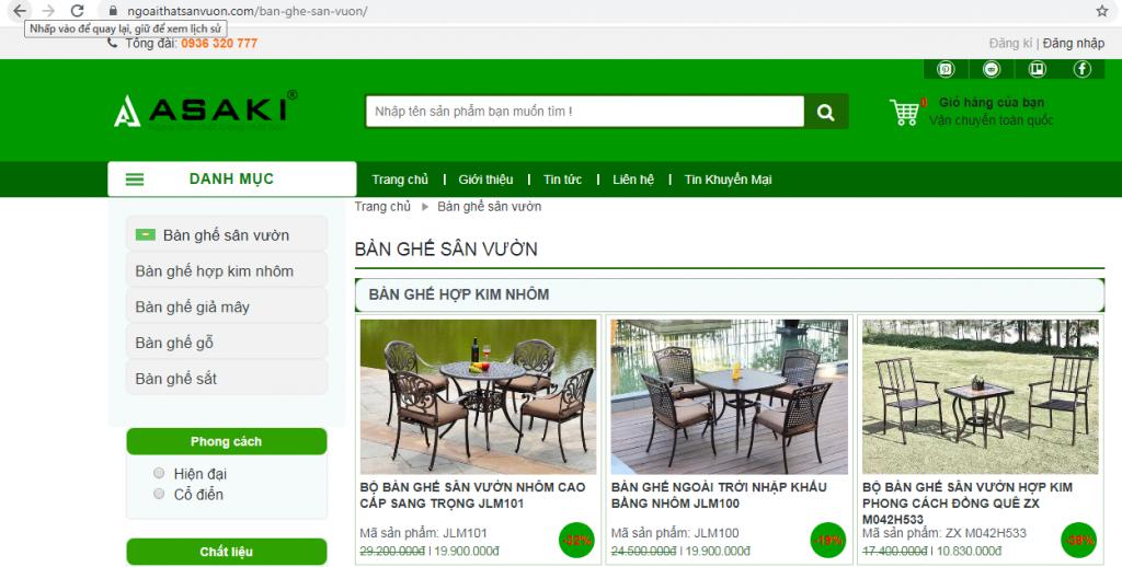 Mua bàn ghế gỗ ngoài trời giá rẻ - chất lượng ở đâu?